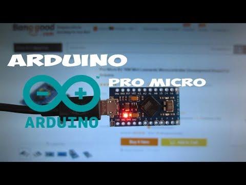 How to use Arduino Pro Micro(Leonardo) from Banggood