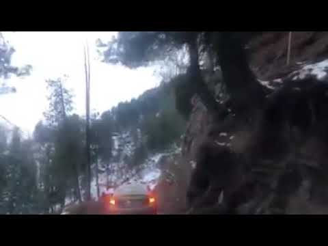Terrifying Video Of Car Falling Off A High Mountain Road