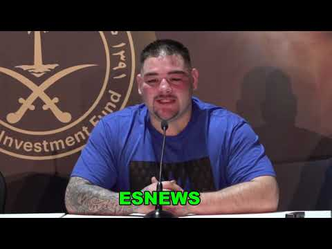 Andy Ruiz I Was Not At My Best Today  vs Anthony Joshua EsNews Boxing