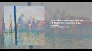 Oboe Sonata in B flat major, HWV 357