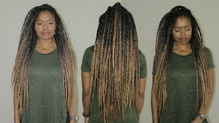 The MOST Realistic Faux Dreads | Super Light, Quick Install & Reusable