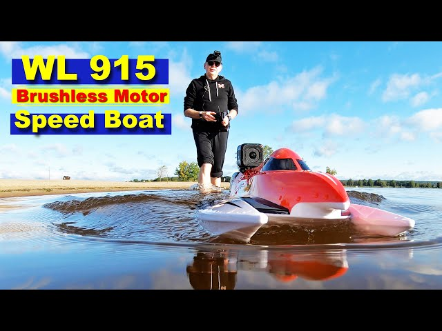 WL 915 Speed Boat - 3S Power Brushless Motor - Very Fast - Only $79
