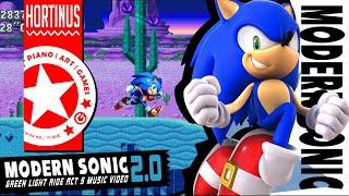 ✪ New Modern Sonic v2.0 | Green Light Ride Zone (15k Sub Special) ✪