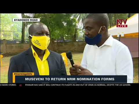 ON THE GROUND: President Museveni set to return nomination forms