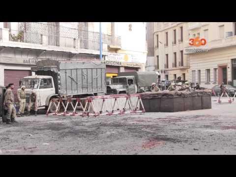 Le360.ma • Vidéo. Scènes de guerre à Casablanca