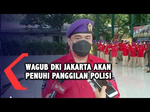 wagub dki pastikan akan penuhi panggilan polisi terkait kerumunan acara fpi