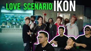 "IKON shares their ""LOVE SCENARIO"" (MV Reaction)"