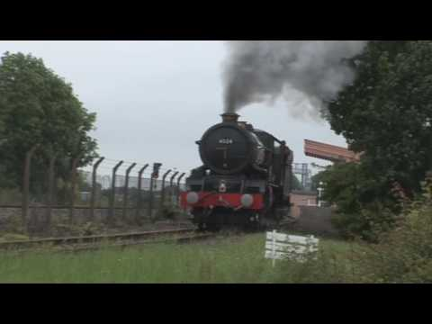 GWR 6024 'King Edward I' out and about in England and Wales …