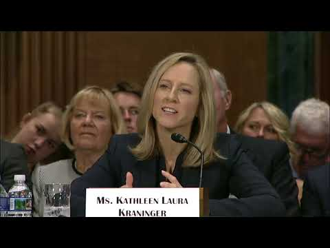 Reed Questions Potential CFPB Head Kathleen Kraninger at Banking Committee Hearing