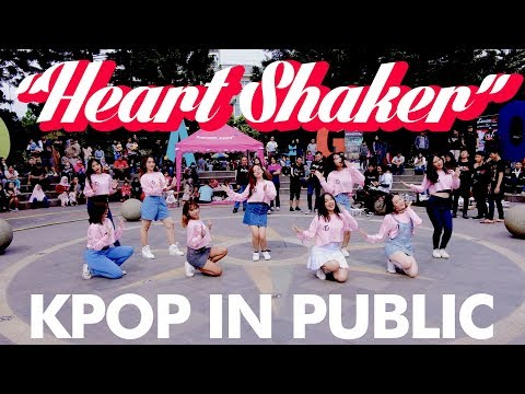 """[KPOP IN PUBLIC CHALLENGE] TWICE(트와이스) """"HEART SHAKER"""" Dance Cover by Tricky Wickey from Indonesia"""