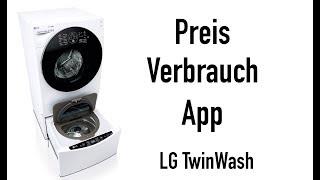 LG TWINWASH: PREIS + VERBRAUCH ETC!! #LetsTwashit