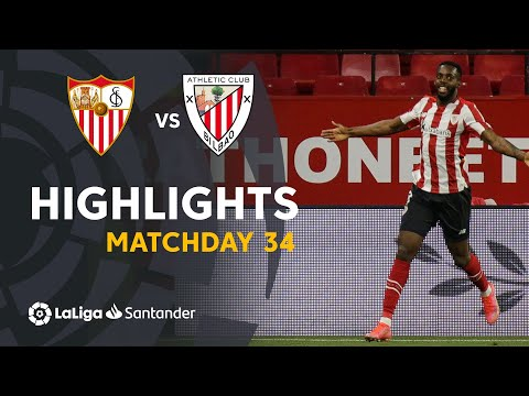 ⚽ HIGHLIGHTS I Sevilla FC 0-1 Athletic Club I LaLiga Matchday 34