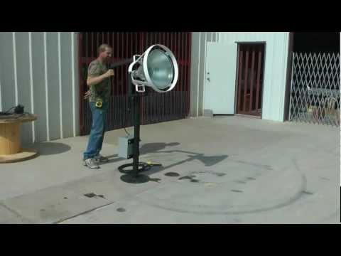 Magnalight Metal Halide Tower Security Spotlight
