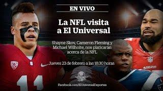 La NFL visita a EL UNIVERSAL