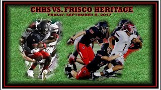 Colleyville Football -- CHHS vs. Frisco Heritage -- September 8, 2017