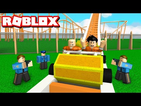 JAILBREAK ROLLER COASTER! - Roblox Adventures
