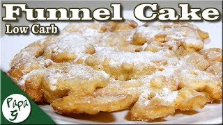 Ultra Low Carb Funnel Cake – A Very Easy High Protein Dessert