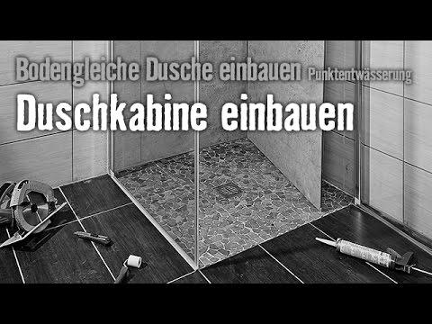 Bodengleiche Dusche einbauen: Punktentwässerung - Kapitel 4 | HORNBACH Meisterschmiede