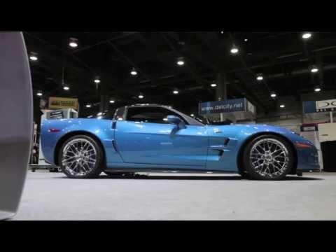 Resurrected 'Blue Devil' Corvette - 2014 SEMA Show