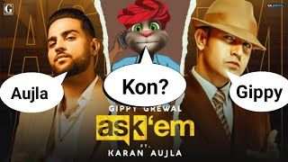 Ask Them : Karan Aujla ft. Gippy Grewal ( Full Video Song ) Latest Punjabi Song | Karan Aujla Song