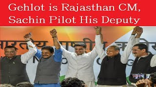 Gehlot is Rajasthan CM, Sachin His Deputy as Rahul Gandhi Opts For Old Fighter, Not New Pilot