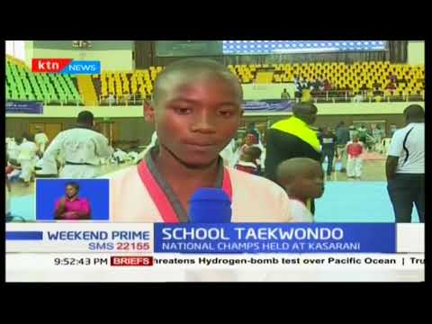 SCHOOL TAEKWONDO: Over 600 pupils participate