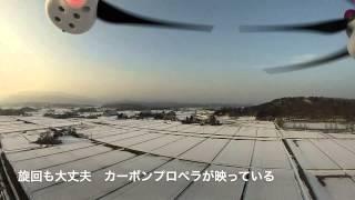 DJI Phantom2 カーボンプロペラで墜落