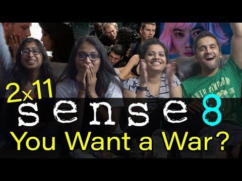 Sense8 - 2x11 You Want a War? - Uglies Reaction