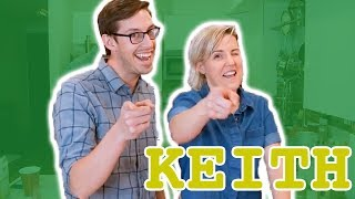 My Drunk Kitchen: Pizza Cake ft. The Try Guys (Part Three... Keith!) - Video Youtube