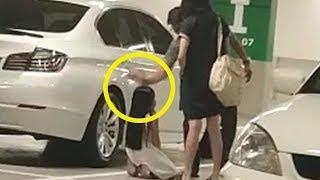 Viral Video Anak Perempuan Berlutut lalu Ditampar Ayahnya di Parkiran IKEA: Aku Tak Akan Ulangi Lagi