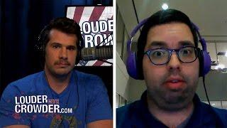 DEBATE! Crowder vs. LGBTQ #SJW (Zack Ford)   Louder With Crowder