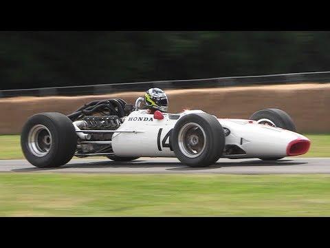 1967 Honda RA300 F1 Car - 3.0L V12 Engine Sound!