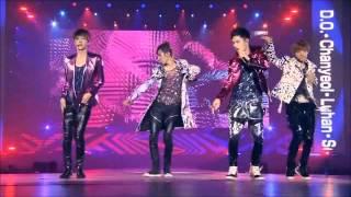 TTS & EXO - DJ Got Us Fallin'in Love Again [ Lyrics ]