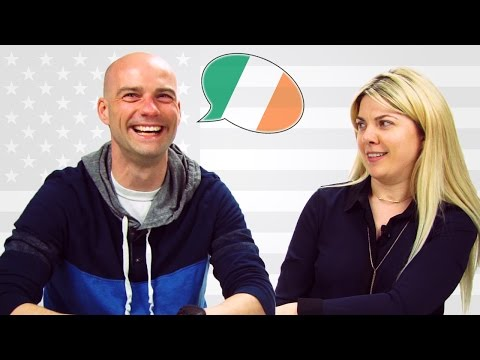 Americans Try Irish Accents