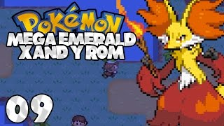 Pokemon Mega Emerald XY Edition - Episode 9 (Mt Pinatubo + First Commentary)