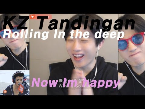 Korean Reaction] KZ Tandingan Rolling in the deep by covered