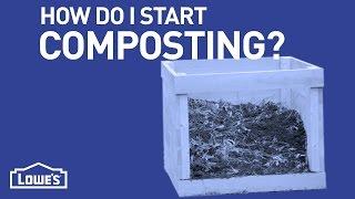 How Do I Start Composting? | DIY Basics