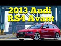 Audi RS4 Avant 2013 for GTA 5 video 1