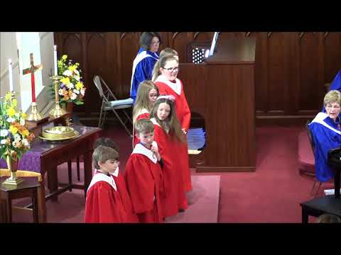 Palm Sunday Easter Cantata - EUMC Chancel Choir - 11:00 Worship Service