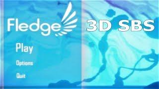 3D VR video Fledge 3D SBS VR box google cardboard