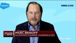 Salesforce CEO Marc Benioff on New Software to Help Businesses Reopen
