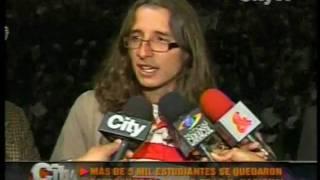 preview picture of video 'city tv, la nacho se queda esperando a wasserman'