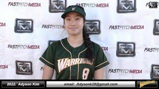2023 Ciara Esparza 3.8 GPA, Athletic Pitcher & 3rd Base Softball Skills Video - Firecrackers DeLeon