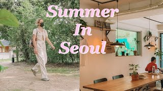 한국, 서울에서의 여름날! | 한국 생활기
