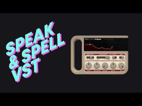 A Speak & Spell Vocal Effect Plugin?