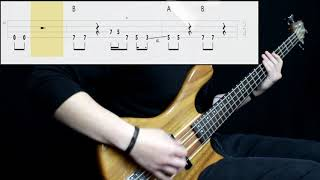 Joan Jett & The Blackhearts - I Love Rock N' Roll (Bass Cover) (Play Along Tabs In Video)