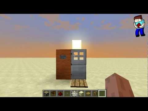 [Minecraft] Урок 74: Удобная железная дверь!
