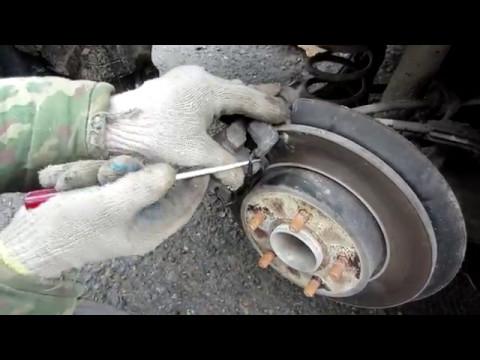 Замена задних и передних колодок Форд Фокус 2