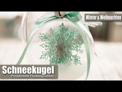 Schneegestöber in der Kugel | Schneekugel | Dekoration Winter & Weihnachten | Stampin' Up!