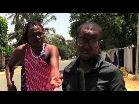 Watu wenye matatizo ya akili mitaani | Masai & Mau Minibuzz Comedy